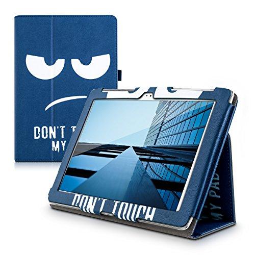 kwmobile ASUS ZenPad 10 (Z300) Custodia - Cover per ASUS ZenPad 10 (Z300) - Copertina in Pelle PU per Tablet - Smart Case con Stand