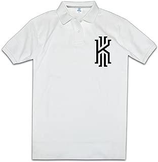 MZONE Men's Basketball Superstar Kyrie #2 Irving Fashion Polo Tshirt