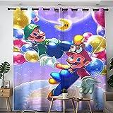 Panel de cortina opaca Super Mario Bros de dibujos animados...