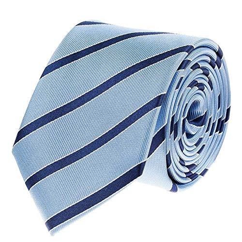 Bruce Field - Cravate club à rayure marine