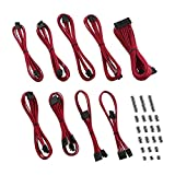 CableMod E-Series Classic ModFlex Sleeved Cable Kit for EVGA G5 / G3 / G2 / P2 / T2 (Red)