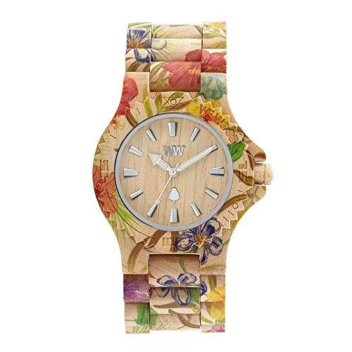 WEWOOD Reloj Analógico para Mujer de Cuarzo con Correa en Madera WW01013