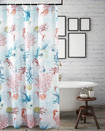 Barefoot Bungalow Sarasota Shower Curtain, One Size, Multicolor