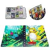 ESOOR Pokemon Kartenhalter Sammlung Handbook Sammelkartenalbum für bis zu 240 Pokemon Sammelkarten -