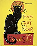 Peinture Toulouse Lautrec Le Chat Noir 24 x 19 cm - reproduction toile