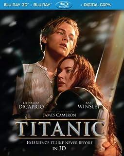 Titanic (4-Disc Combo) [Blu-ray 3D + Blu-ray + Digital Copy] (Bilingual) (B007UPWIYY) | Amazon price tracker / tracking, Amazon price history charts, Amazon price watches, Amazon price drop alerts