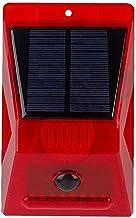 Solar Alarm Sirene Luid Geluid 129db Strobe Light Met Motion Sensor Afstandsbediening Voor Home Farm Villa Outdoor