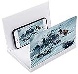 Kitchen-dream 8 Pouces loupe décran de téléphone 3D HD Pliable écran...