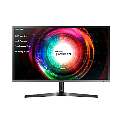 Samsung U28H750UQU 70.8 cm (28 Inch) Monitor (HDMI, DVI, 1ms Response Time) Black