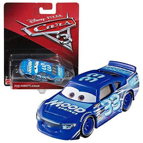 Modelle Auswahl Auto | Disney Cars 3 | Cast 1:55 Fahrzeuge | Mattel, Typ:Dud Throttleman / Mood Springs