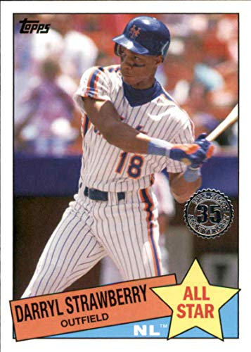 Baseball MLB 2020 Topps 1985 35th Anniversary All-Stars #85AS-30 Darryl Strawberry #85AS-30 NM Near Mint Mets