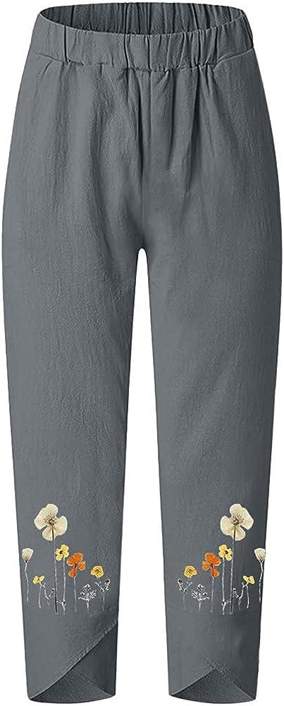 NP Women Casual Waist Sports Wide Leg Pants