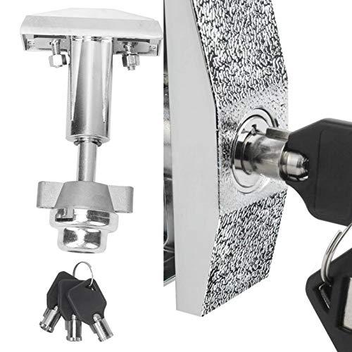 Jeanoko Cerradura de aleación de Zinc Cerradura de Caja Segura Cerradura de máquina de Alta Resistencia No es fácil de Romper Aleación de Zinc para el hogar
