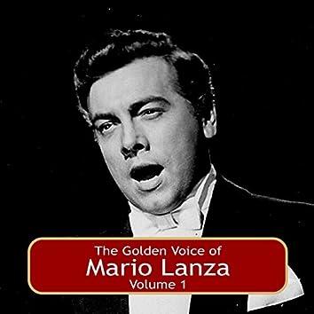 The Golden Voice of Mario Lanza, Vol. 1