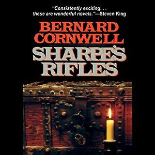 Sharpe's Rifles audiobook cover art