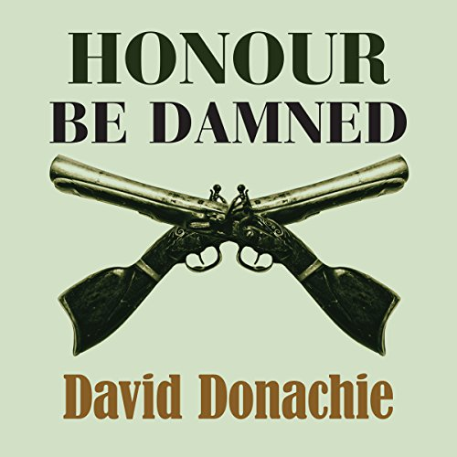 Honour be Damned audiobook cover art
