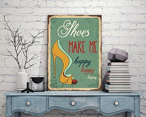 Fhdang Decor Me Signs-Vintage Style, Plaque en métal en Aluminium Sign, Propagande de signalisation, Plaque de Rue en métal, décoration Murale en métal, Funny Plaque en métal, 20,3 x 30,5 cm