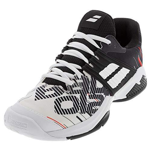 BABOLAT Propulse Fury All Court M, Zapatillas de Tenis Hombre, White/Black, 40.5 EU