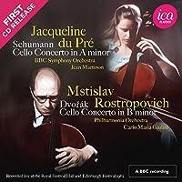 Schumann: Cello Concerto in A minor / Dvorak: Cello Concerto in B minor