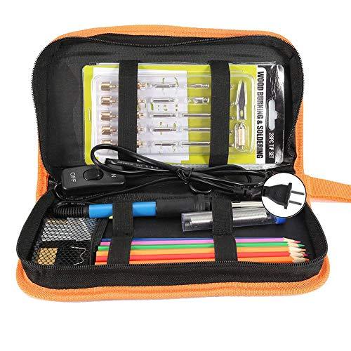 Buy Zerone 60PCS 60W Electric Soldering Iron Adjustable Temperature Welding Multimeter Tool(US Plug ...