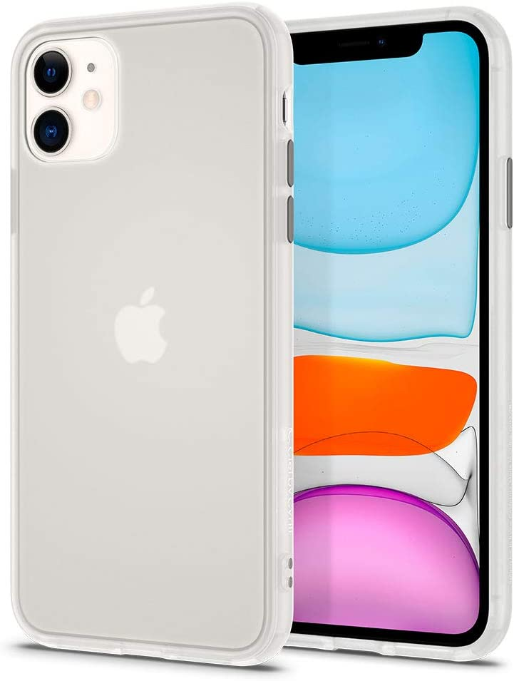 CYRILL Color Brick Designed for Apple iPhone 11 Case (2019) - White