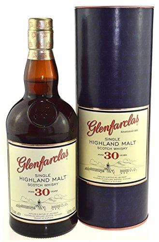 Glenfarclas 30 Jahre - 0,7l - Single Highland Malt Scotch Whisky - alte Ausstattung