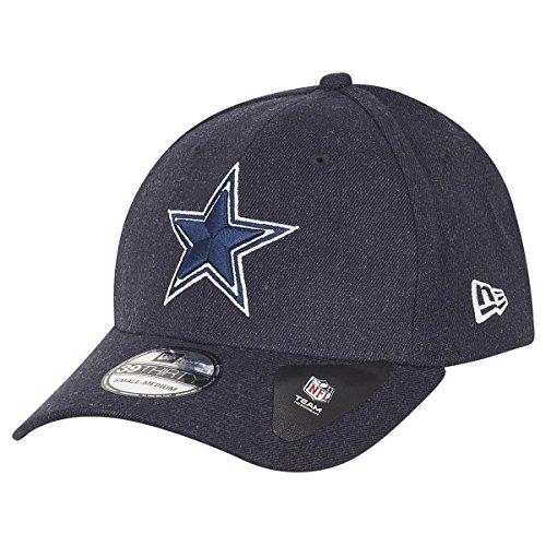 New Era 39Thirty Cap - NFL Dallas Cowboys Heather Navy - S/M