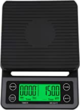 Accurate Electric Kitchen Scale,Coffee Scale with Timer High-precision Kitchen Scale Mini Electronic Platform Scale Food W...