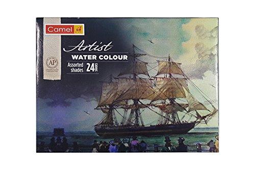 Camlin Kokuyo Artist 5ml Water Color Tube - 24 Shades (Multicolor)