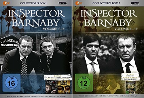 Inspector Barnaby - Collector's Box 1+2 (40 DVDs)