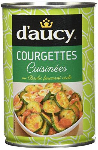 d'aucy Courgettes Cuisinés 375 g