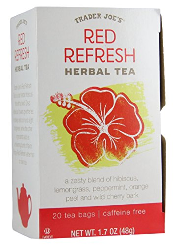 Trader Joes - Herbal Tea - Red Refresh - 20 Tea Bags
