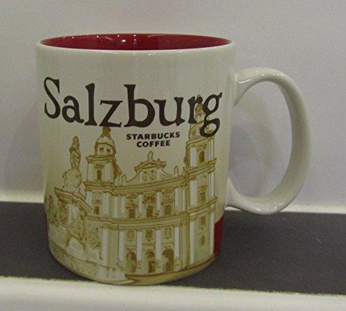 Starbucks Kaffeebecher Kaffee City Mug Tee Tasse Becher Icon Series Salzburg Austria