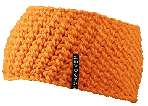 MB CAPSHerren Stirnband Orange Orange