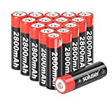 AA Rechargeable Batteries, AA Batteries Rechargeable...