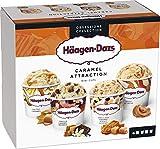 Häagen-Dazs Caramel Collection Minitarrinas, 4 x 95ml