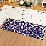 Inicio alfombra de cocina sala de estar antideslizante alfombra...