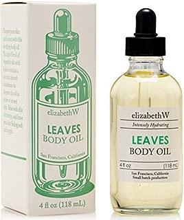 elizabethW Leaves Body Oil - 4 Ounce