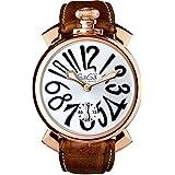 GAGA MILANO(ガガミラノ) 5011.06S MANUALE 48MM 腕時計 レザーベルト [並行輸入品]