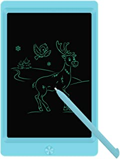 LCD Writing Tablet Drawing Board, Electronic Drawing Tablet Kids Tablets Doodle Board Writing Pad for Kids and Adults at Home, School and Office with Lock Erase Button (Blue)