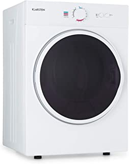 Klarstein Jet Set - Secadora de ropa por salida de aire, Potencia 1020 W, 2 niveles, Temporizador 20-200 min, Tambor de ac...