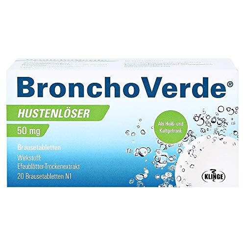 BronchoVerde Hustenlöser 50 mg Brausetabletten, 20 St. Tabletten