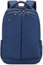 ZHCWT Backpack, Travel Laptop Backpack Anti-Theft,Water Resistant,College School Bookbag Fits Laptop (Color : Blue)