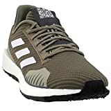 adidas Men's PulseBoost HD Winter Running Shoes Trace Cargo/Cloud White/Sesame 10