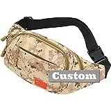 Nombre Personalizado Messenger Bag Cross Bolso de Hombro para Hombres Mochila de Viaje Nylon Crossbody Bolsas (Color : Kaqise, Size : One Size)