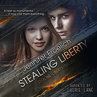 Stealing Liberty audiobook cover art