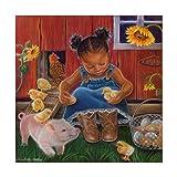 Barn Babies by Tricia Reilly-Matthews, 18x18-Inch