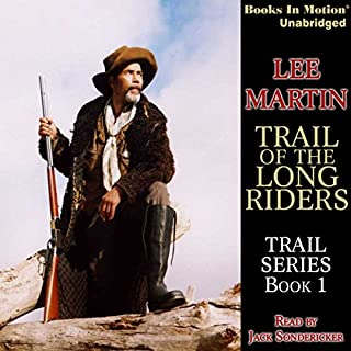 Trail of the Long Riders audiobook cover art