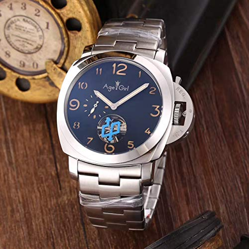 Luxury Brand Men Automatic Mechanical Sapphire Stainless Ste
