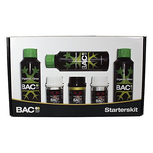 Kit Starter Pack Fertilisant d'engrais de culture BAC (Organic Starters Kit)